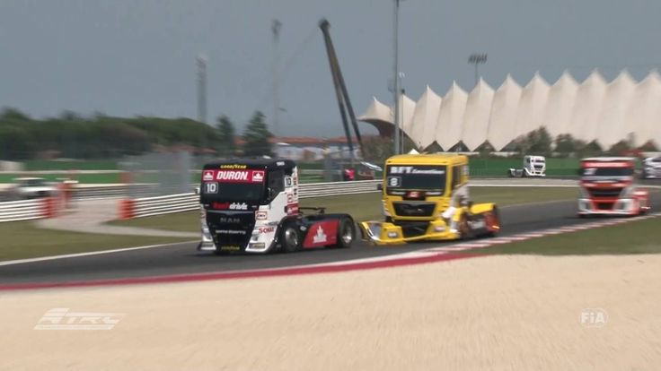 FIA ETRC 2016 Misano, Saturday's Truck Teaser race1