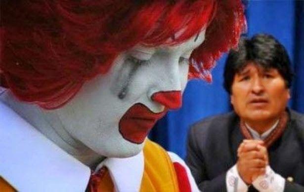 La Bolivie est devenue la première nation à se libérer de la malbouffe de McDonald, qui a lutté pendant plus d'une décennie pour conserver son icône «rouge». Et cette victoire de la Bolivie a encore fait la une des journaux. Après 14 ans de malbouffe dans le pays et en dépit des nombreuses campagnes de …