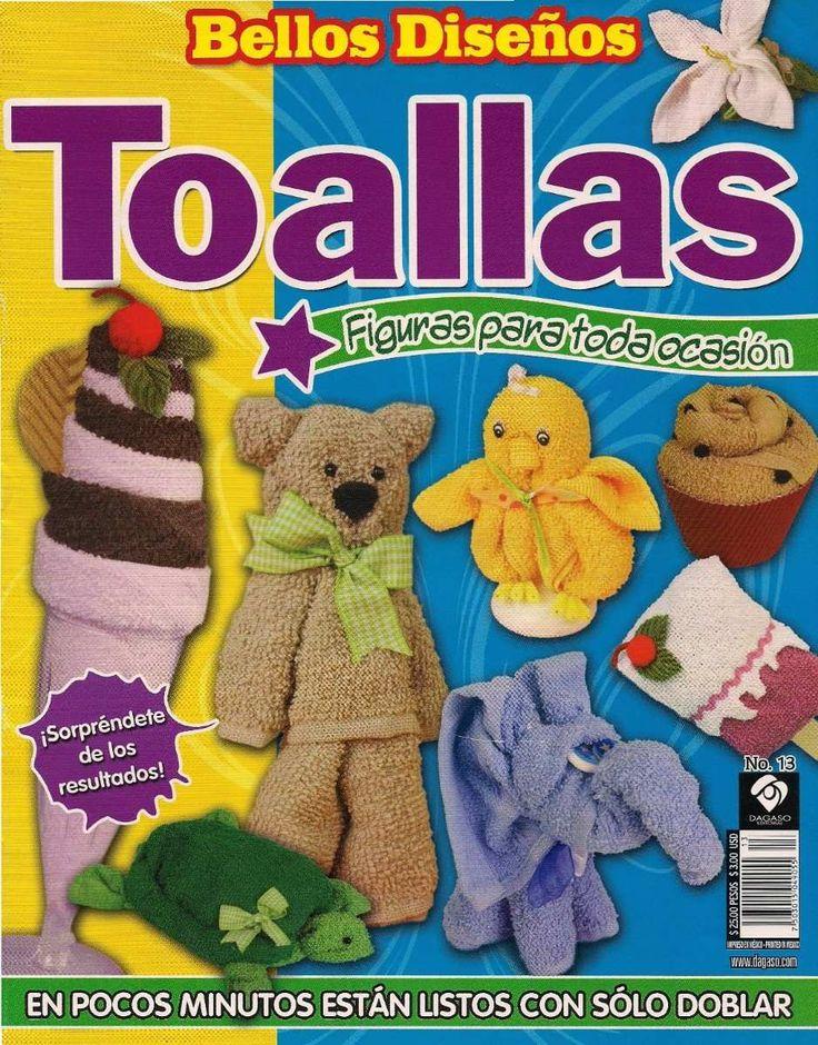 Manualidades En Toalla Videos Y 6 Revistas - $ 120.00 en MercadoLibre