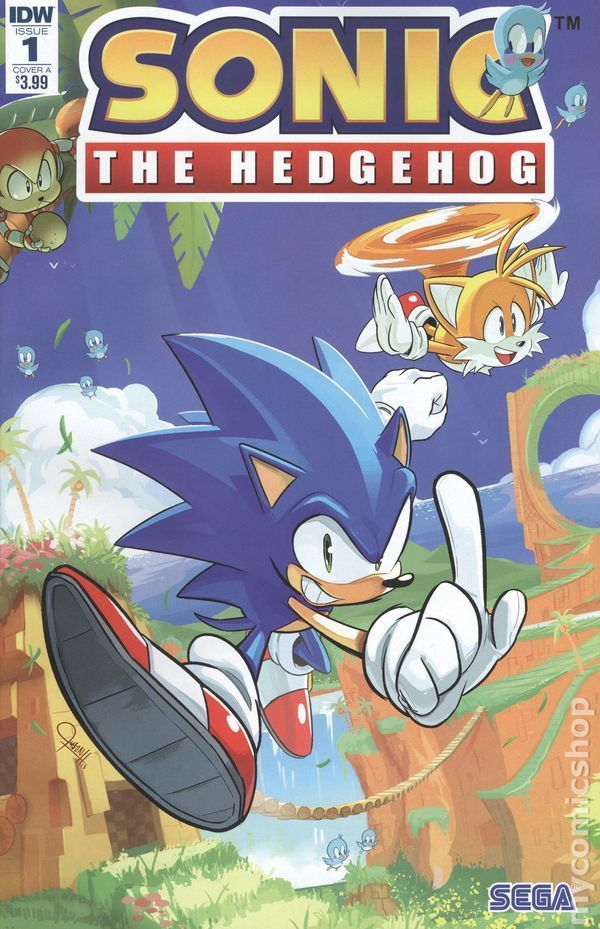Sonic The Hedgehog Comic Series By Archie Comics Idw Publishing New Sonic The Hedgehog Sonic Hedgehog