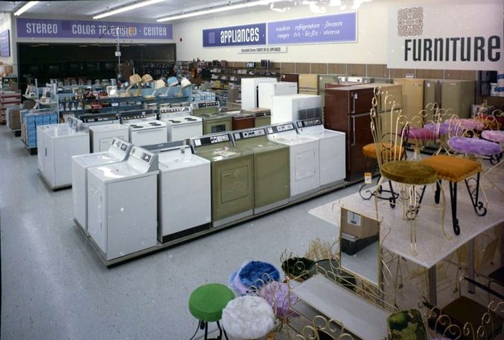 Kmart Appliance Dept - San Jose CA - 1970