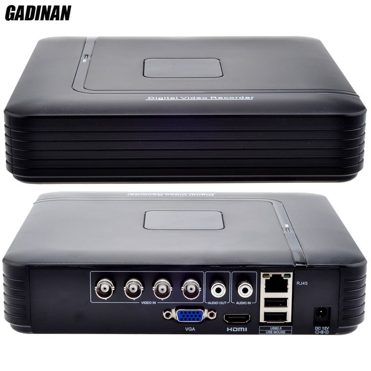 GADINAN Hot Products 4CH AHD DVR 1080N 15fps AHDNH CCTV Recorder Camera Network 8 Channel IP NVR 1CH Audio Input Multi-language #CLICK! #clothing, #shoes, #jewelry, #women, #men, #hats, #watches