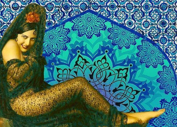 Eviva España! - graphic art by Laura Li