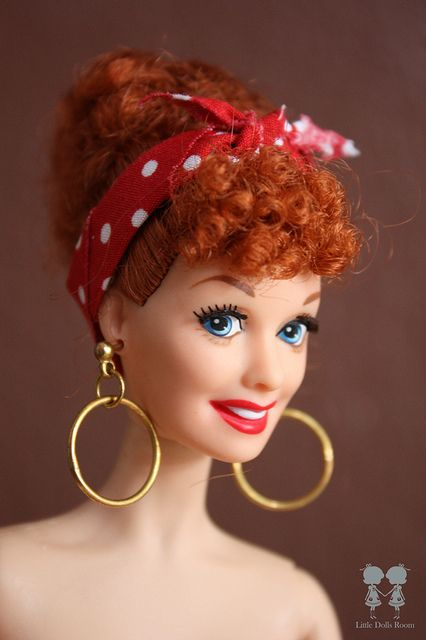 Lucy as Pin up Girl. by little dolls room, via Flickr