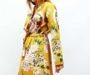 vestido flores mostaza2