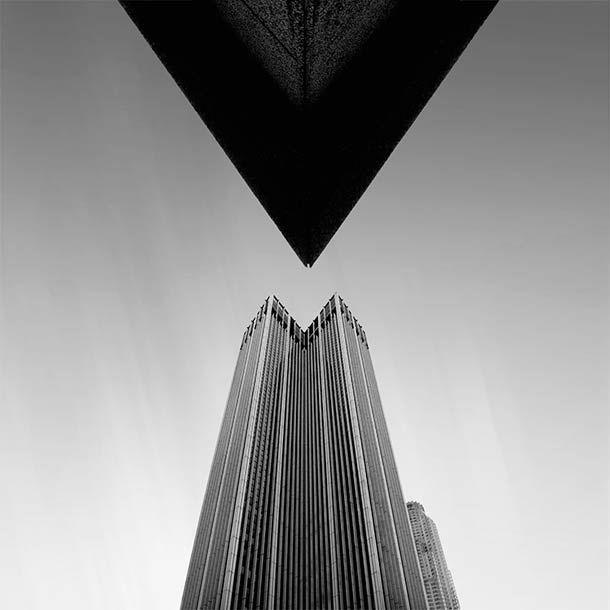 Architecture abstraite et photographies en noir et blanc (image)_De Kevin Saint Grey