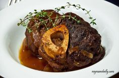 Beer and Onion Braised Beef Shank Recipe
