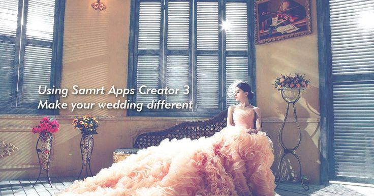 wedding app -Smart Apps Creator