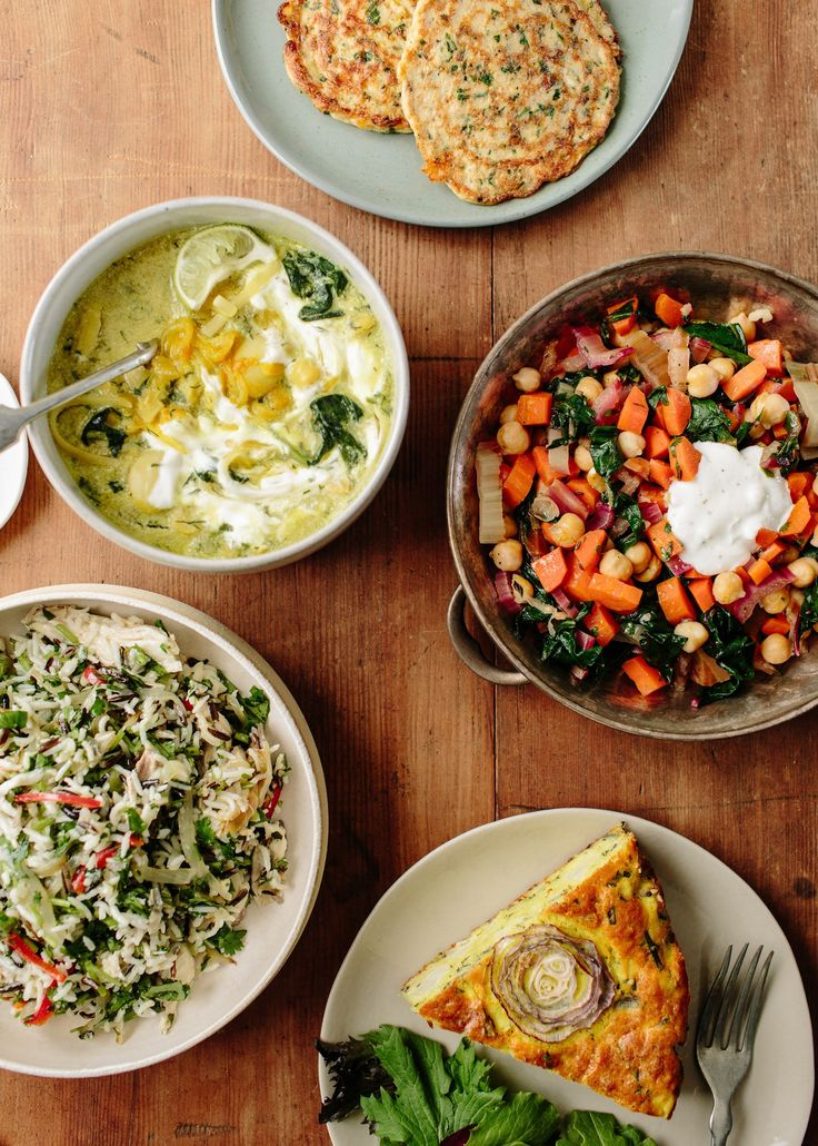 A Week of Lunches from Ottolenghi — Meal Plans from The Kitchn