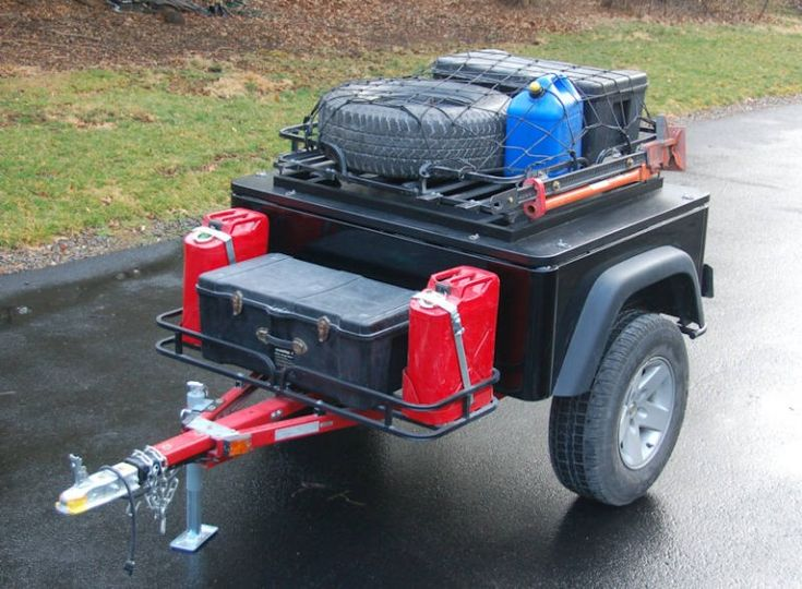 Simple Off Road Camper Trailer  Camping Ideas  Pinterest