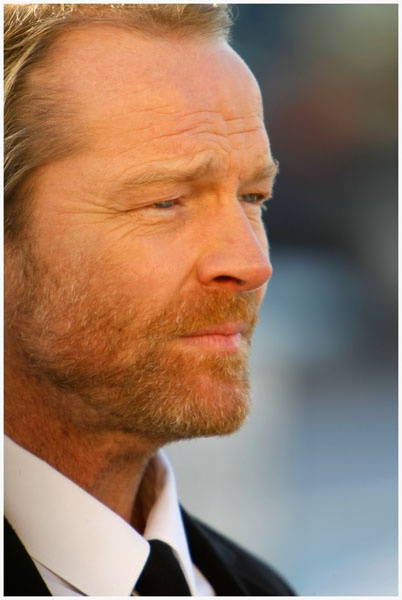"Iain Glen from TV series ""Jack Taylor""....very underated actor ...I just found this on Netflix.... love him"