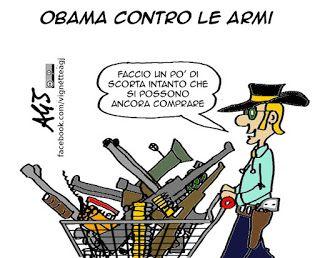 Campagna di Obama contro le armi