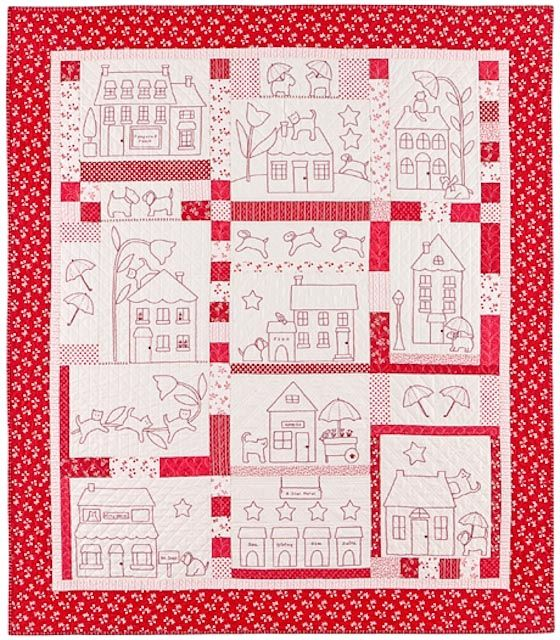 Quilting Redwork Designs : 1000+ images about redwork and inspiration on Pinterest Hand embroidery, Quilt and Embroidery