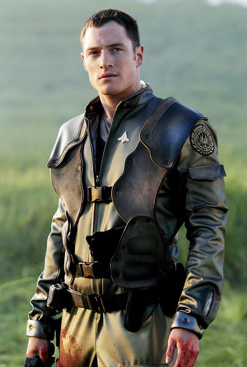 Tahmoh Penikett. Thank god they didn't kill off Helo! He was a great character. And kind of the father of a new race.