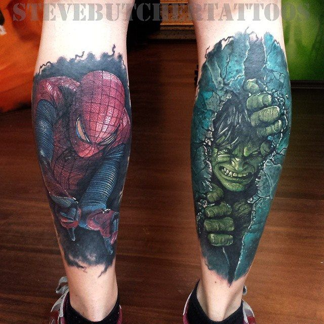 #marvel #hulk #spiderman