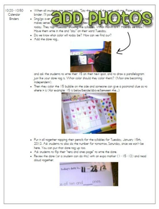 Sub Plan, Sub Binder and Emergency Sub Plans - Teach Junkie