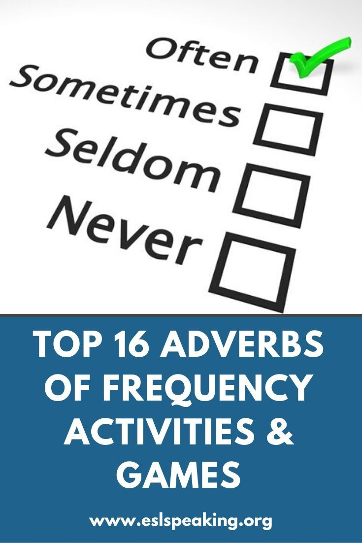 Check Out The Top 16 Adverbs Of Frequency Activities Games Along With Worksheets And Lesson Plans For Help Te Adverb Activities How To Teach Grammar Adverbs [ 1102 x 735 Pixel ]