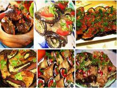 Баклажаны по-грузински      Рецепт удивительно вкусной и совсем несложной в приготовлении грузинской закуски. Такие ароматные и остренькие рулетики есть в меню ре...