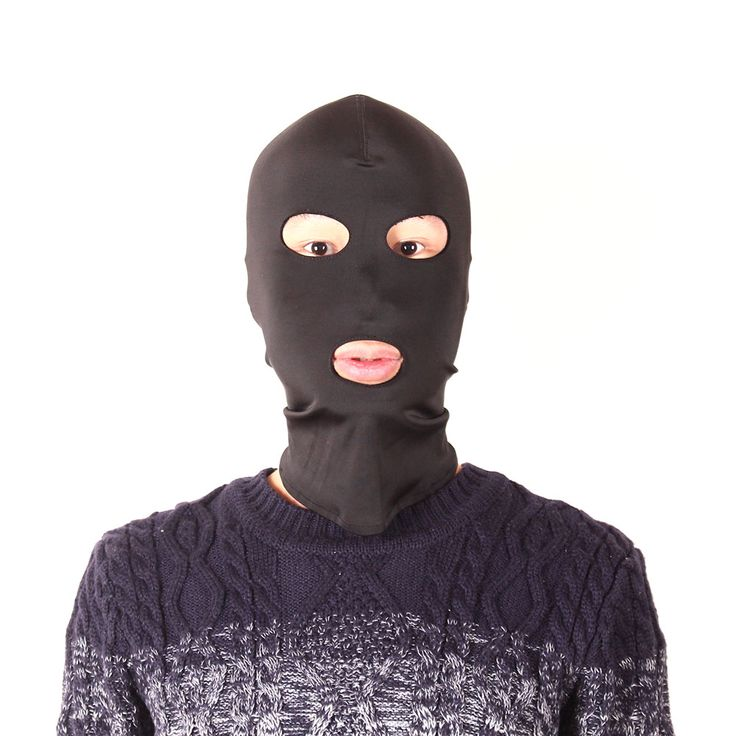 Oral Sex Open Mouth Fetish Fantasy Elastic Spandex Mask hood with open eyes and mouth holes, Cosplay hood Harness Party Mask