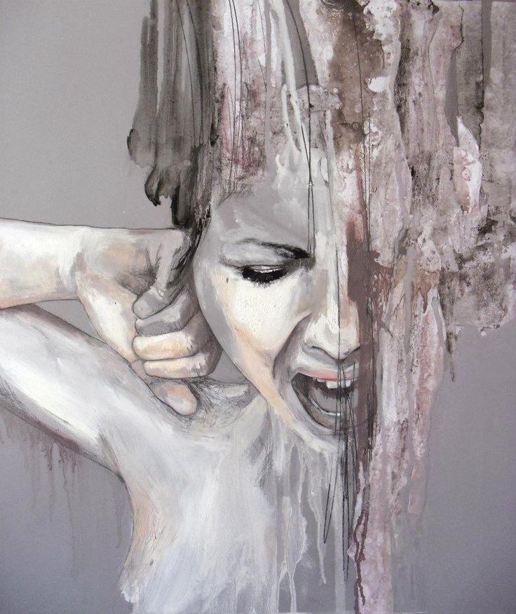 Jessica Rimondi I like how the paint validates the emotions and expressions…