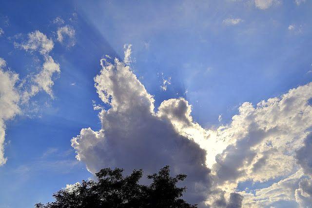 summer sky, Poland