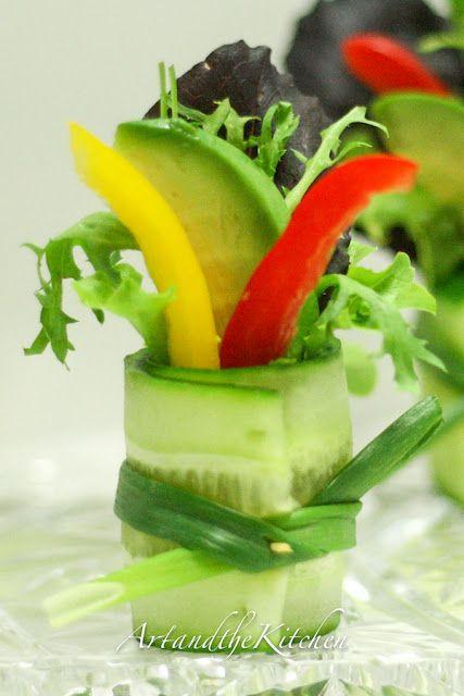 Cucumber Salad Bite