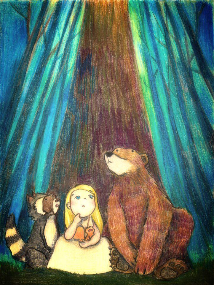 Children's book illustration for family & friends