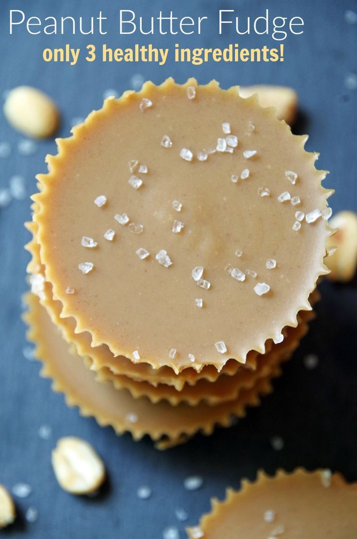 Have a sweet tooth but want a healthy snack? This homemade peanut butter fudge…