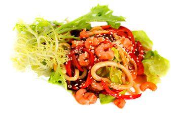 Манга салат из мимозы