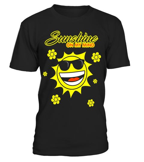 "# Sunshine On My Mind T-shirt - Fun Summer Beach Sun emoji Tee .  Special Offer, not available in shops      Comes in a variety of styles and colours      Buy yours now before it is too late!      Secured payment via Visa / Mastercard / Amex / PayPal      How to place an order            Choose the model from the drop-down menu      Click on ""Buy it now""      Choose the size and the quantity      Add your delivery address and bank details      And that's it!      Tags: Sunshine On My Mind…"