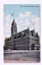 OHIO Dayton Steele High School 1911 OH postcard
