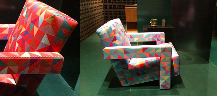 Cassina Utrecht fauteuil Gerrit Rietveld