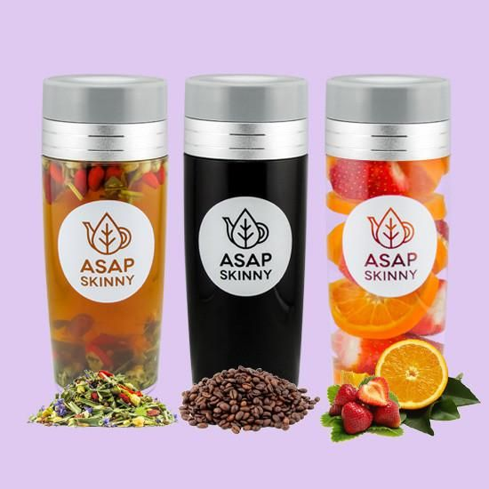 Everybody LOVES our Tea Infuser Bottle! Our Tumbler comes with a FREE Tea Infuser/Mesh so you can make your drinks fast and easy. 100% BPA-Free & Leak-Proof.
