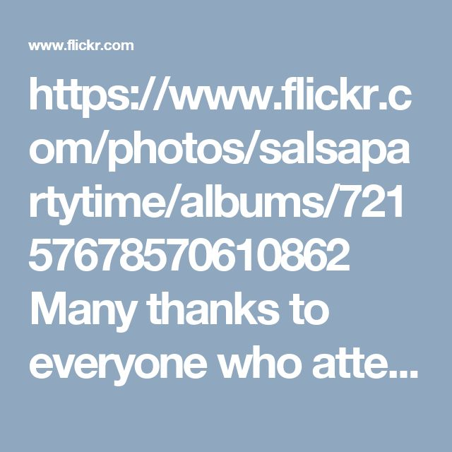 https://www.flickr.com/photos/salsapartytime/albums/72157678570610862 Many thanks to everyone who attended our weekly Sensual Sundays Kizomba and bachata night. SPT dance journey's next stop, 📌 Tues 28th Feb, for our weekly Bachata & Salsa classes + Party. Come on down and join us for A Great Night Out ❤️ Everyone is welcome✔️ No partner required. ★ 3 levels of Bachata @ 7.45pm ★ 4 levels of Salsa @ 8.30pm ★ PartyTime until 11pm to the sounds our DJ playing the very best tunes in Salsa…