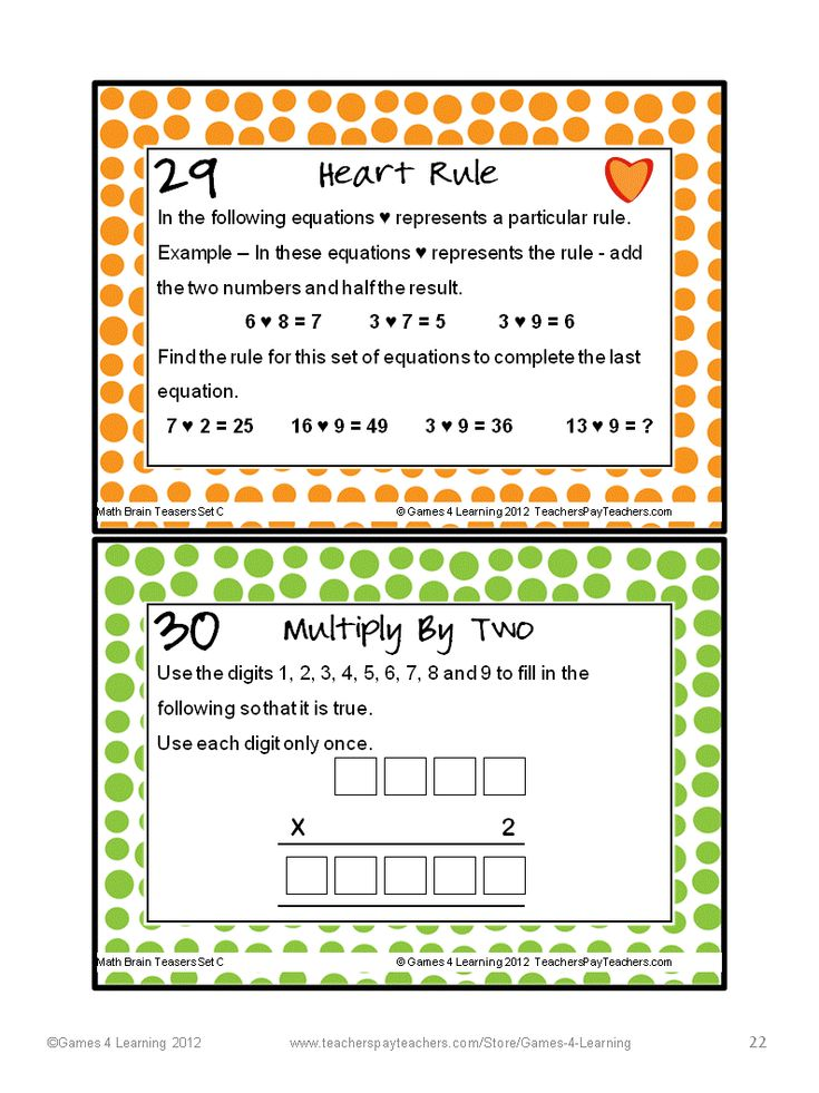 math worksheet : 205 best math puzzles images on pinterest  game 4 math games and  : 4th Grade Brain Teasers