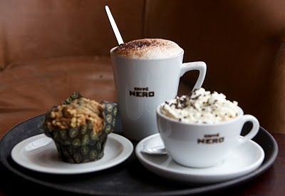 Breakfast at Caffe Nero