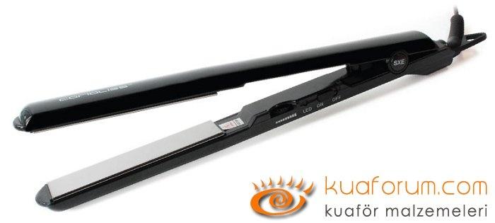 SXE Titanium Black Corioliss Düzleştirici Saç Maşası