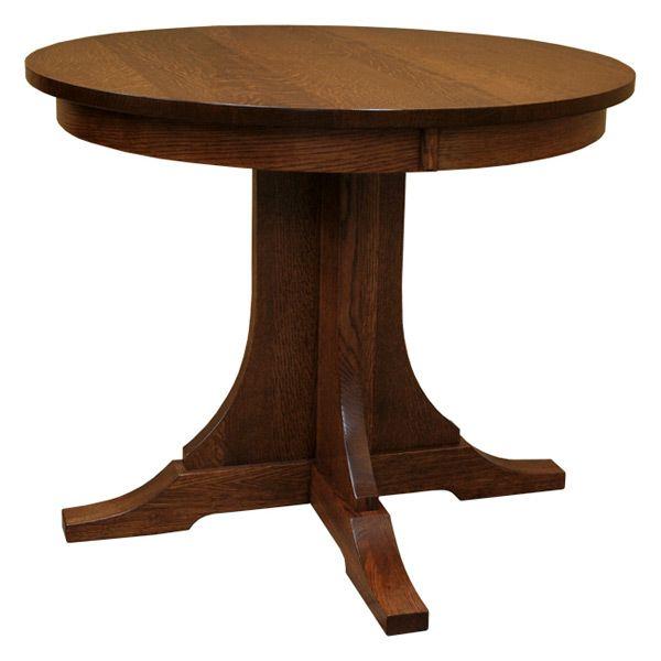 Amish 36. Round Oak Dining TableRound ...