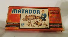 Antique 1950 Matador 4A wooden kit game vintage construction toy Austria in Toys & Hobbies, Vintage & Antique Toys, Other Vintage & Antique Toys | eBay