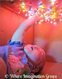 Star Box Sensory Play for Infants | Where Imagination Grows