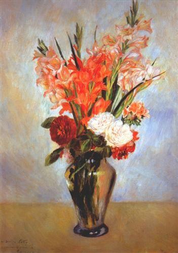 Gladioli - Pierre-Auguste Renoir