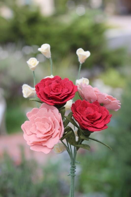 Felt Carnation. Build Your Own Bouquet от TheFeltFlorist на Etsy