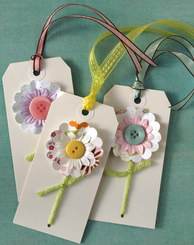 spring breeze flower tags