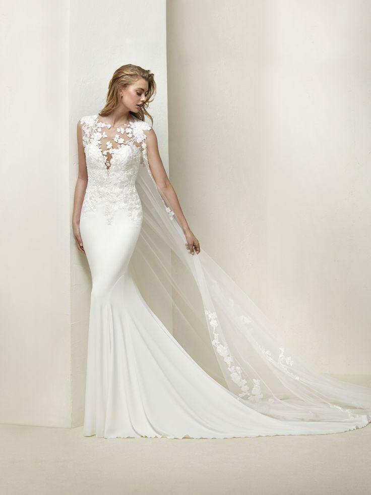 Robe de mariée sirène prononcée - Drail