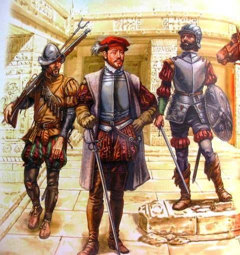 Exploradores españoles en América  http://revistadehistoria.es/exploradores-espanoles-en-america/