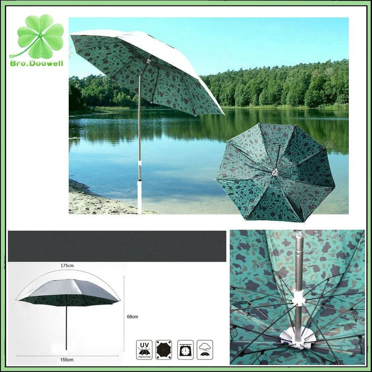 42.90$  Buy here - http://ali82l.worldwells.pw/go.php?t=32695682748 - 1.8M Foldable Sunshade Fishing Umbrella Tent Anti-UV Sunscreen Tent for Fishing Beach Camping Home Garden Park Beach Tent #fishingumbrella