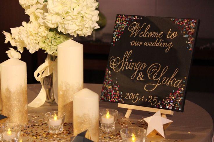 ウェルカムスペース1  yuka wedding☆palace hotel