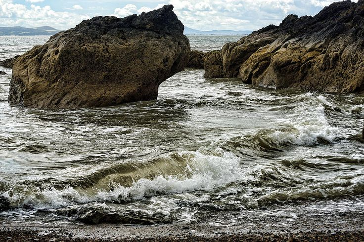 Tide Coming In Photograph
