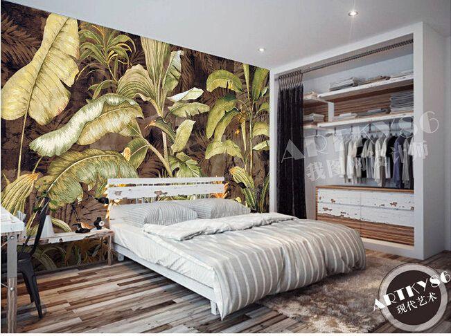 Ucuz Özel retro duvar kağıdı, Muz yaprağı için boyama oturma odası yatak odası TV arka plan duvar su geçirmez duvar kağıdı papel de parede, Satın Kalite duvar kağıtları doğrudan Çin Tedarikçilerden: özel Retro duvar kağıdı, muz yaprağı boya oturma odası yatak odası tv arka plan duvar su geçirmez duvar kağıdı papel de