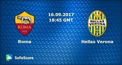 watch tv online free live television channels | Serie A | Roma Vs. Hellas Verona | Livestream | 16-09-2017